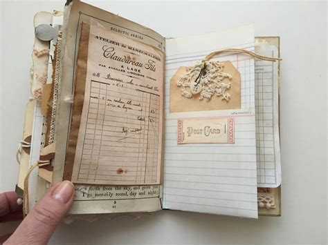 Handmade Journal Ideas - 25 unique junk journal ideas on smash book