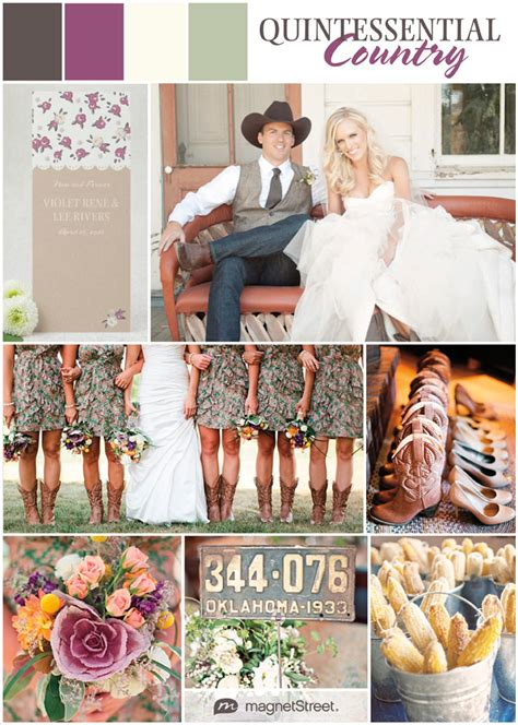Beautiful Color Schemes Country Wedding Ideas Amp Rustic Charmtruly Engaging Wedding