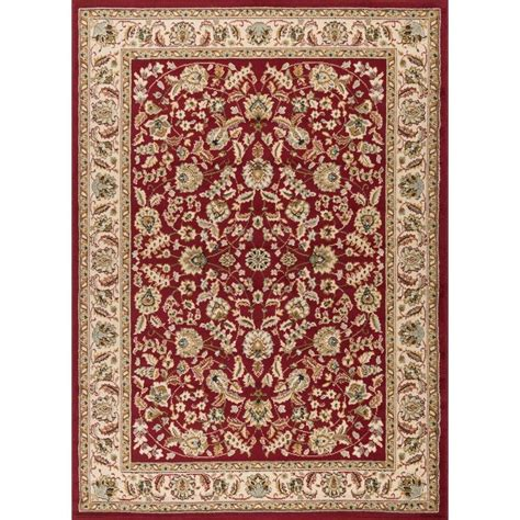 Lowes Area Rugs 5x7 Shop Tayse Laguna Rectangular Indoor Machine Made Area Rug Common 8 X 10 Actual 7 5 Ft W