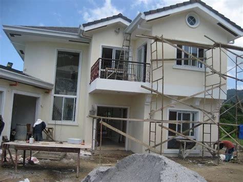 how to find a home builder philippines ayala real estate house construction finishing photo montage w bebotsonly