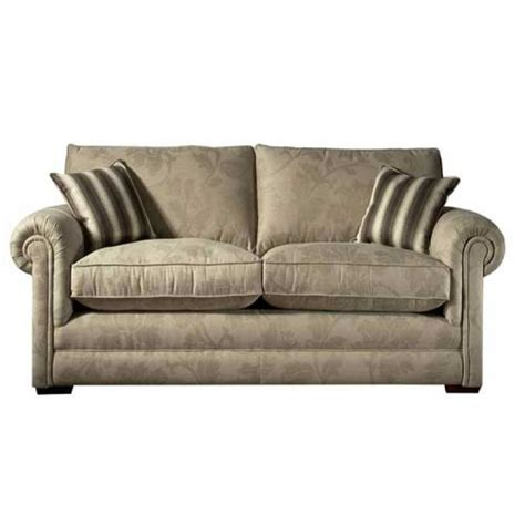 parker knoll settee parker knoll canterbury settee in leather and fabric