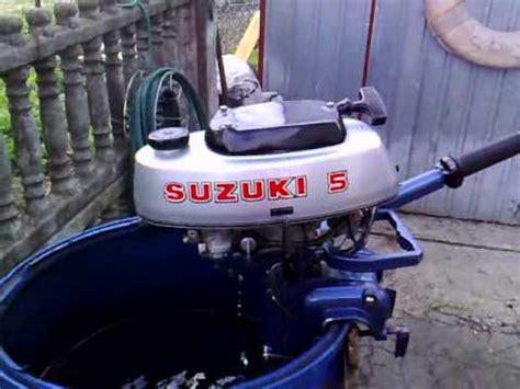 suzuki 4 5 hp outboard motor 1977r 2 stroke dwusuw