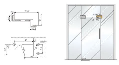 glass door detail architectural frameless glass door glass patch hinge with