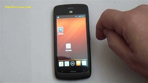 hard reset android zte zte blade apex hard reset how to factory reset