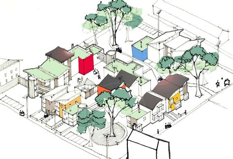 urban design housing white design bristol co housing design pinterest