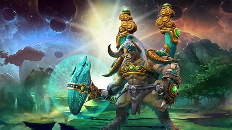 dota 2 elder titan wallpaper elder titan loadscreen the sacred creature s fortune