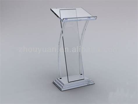 Podium Acrylic 5 custom acrylic podium acrylic speech lectern stand find