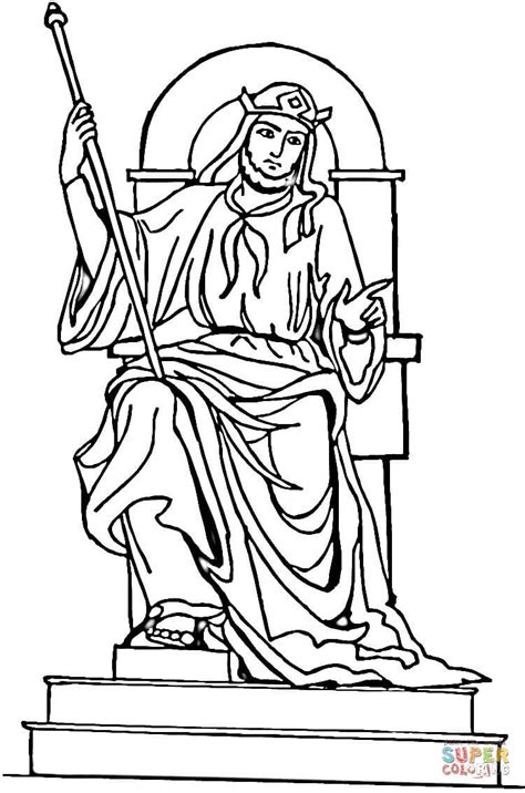 coloring page king solomon shower of roses tree readings coloring pages for 2010