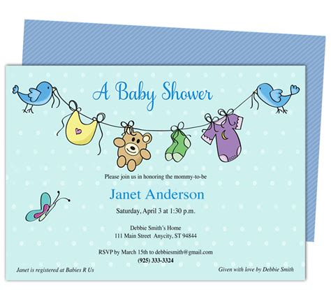 baby shower invitation template microsoft word baby shower invitations free baby shower invitation