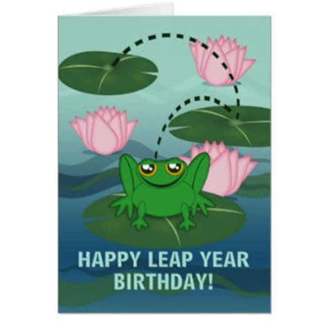 leap year birthday card template leap year birthday cards invitations zazzle au