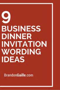 9 business dinner invitation wording ideas business scrapbooking and cards