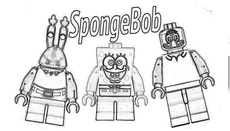 lego spongebob coloring pages lego spongebob coloring pages coloring home