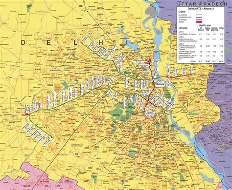 political map of delhi map of delhi free printable maps