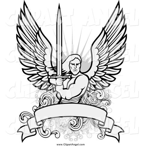 guardian angels coloring page guardian angel with sword coloring pages