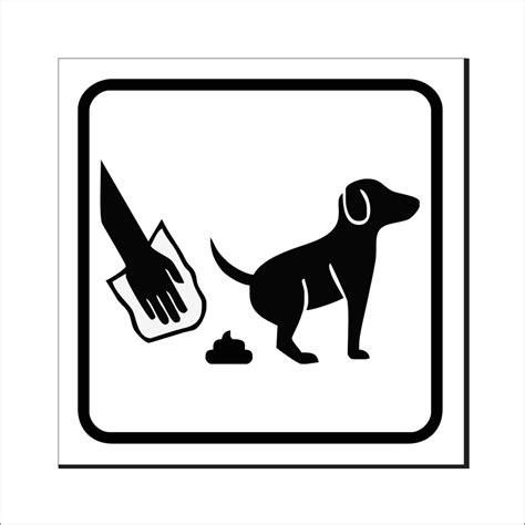 Aufkleber Entfernen Glasscheibe by Hundekot Entfernen Schild