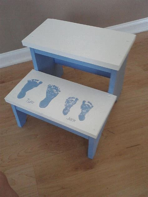 Pallet Step Stool by White Step Stool For The Boys With S