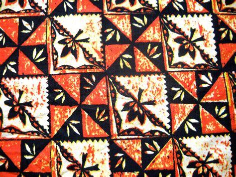 Hawaiian Print Upholstery Fabric by Vintage Barkcloth Hawaiian Print Fabric By Sparklebettie