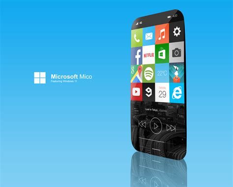 window mobile microsoft mico see the windows 11 mobile concept