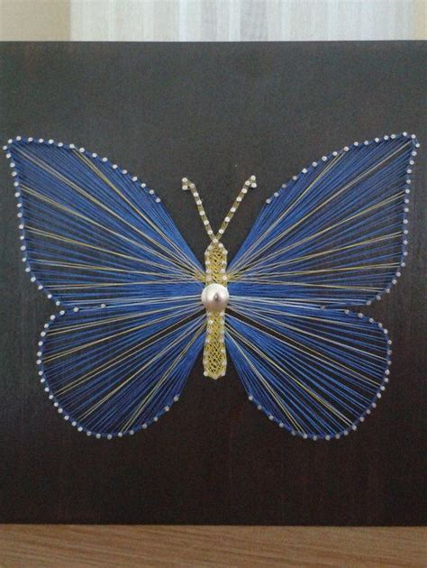 String Butterfly - butterfly string home decor home rustic