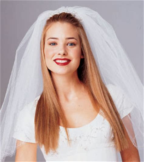 wedding hairstyles for long straight hair with veil bride hairstyle with headpiece and veil long hair blond