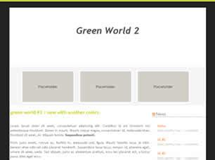 green world 2 free website template free css templates