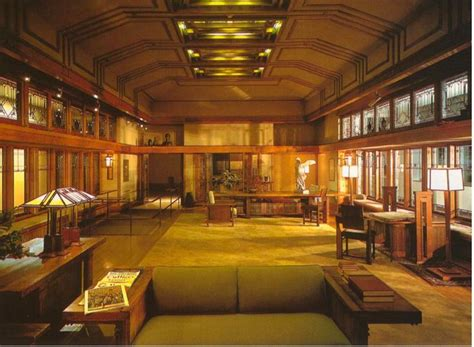 Frank Lloyd Wright Home Interiors 1000 Images About The Prairie School On