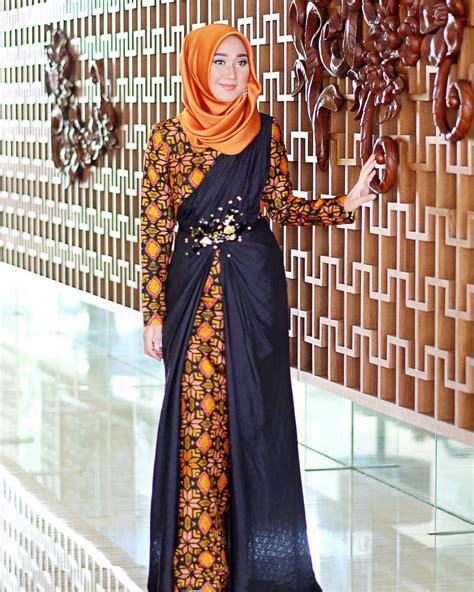desain baju gamis elegant desain baju gamis batik remaja