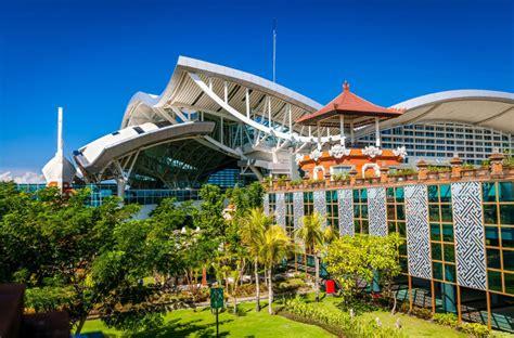duty  shop opens  bali airport arrival area