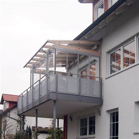 terrassenverglasung auf dem balkon nahe coburg baumann - Wintergarten Auf Balkon