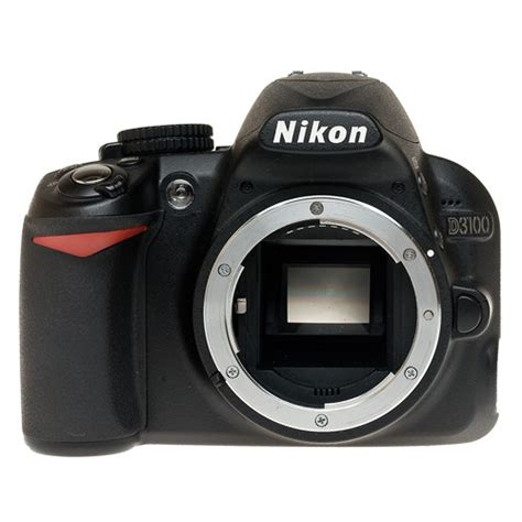 nikon d3100 digital slr d3100body b h photo