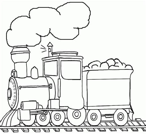 coloring pages of trains for preschoolers printable free transportation train coloring pages for