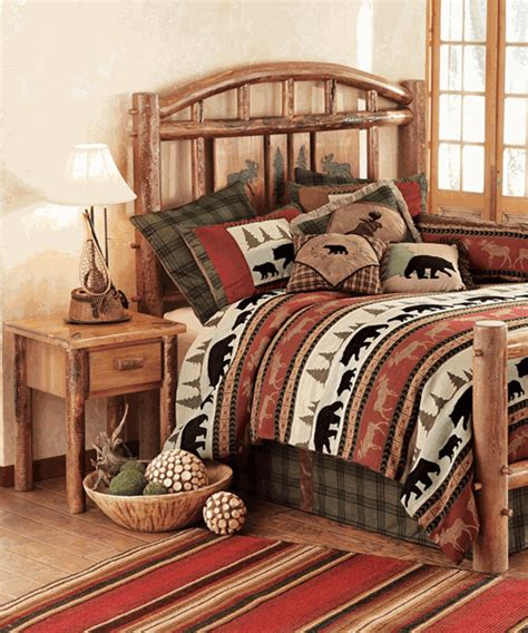 Rustic Bedroom Furniture Canada by Cabin Bedrooms Canadian Log Homes