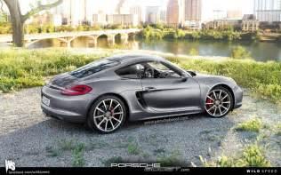 Porsche Cayman 2013 2013 Porsche Cayman Renderings Released