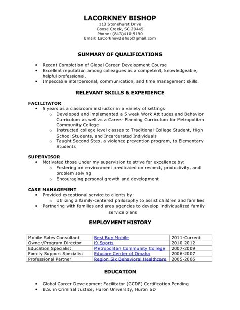Resume Functional by Functional Resume
