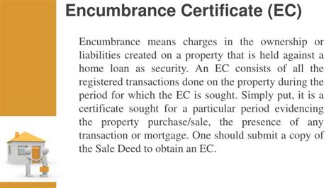 encumbrance certificate for property buying ppt 6 important documents to check before buying a