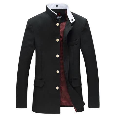 Blazer Gakuran japanese single breasted blazer slim tunic jacket school gakuran xd ebay