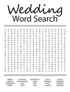 Wedding Word Search For Kids » Home Design 2017