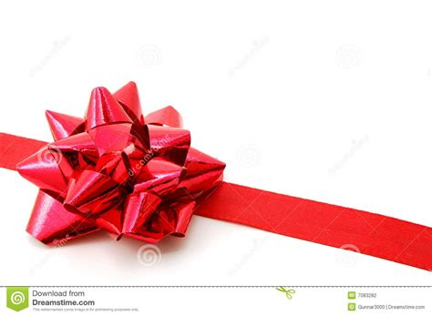 christmas gift with ribbon stock photography image 7083282