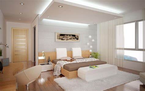 decke haus schlafzimmer mit angenehmer beleuchtung durch die