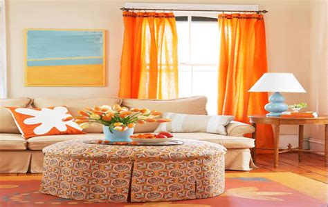 curtains with orange accents living room categories living room paint ideas with grey