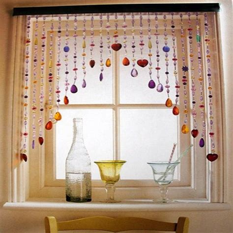 Designs For Kitchen Curtains kitchen curtain ideas beads jpg 500 215 500 pixels craft idea kitchen