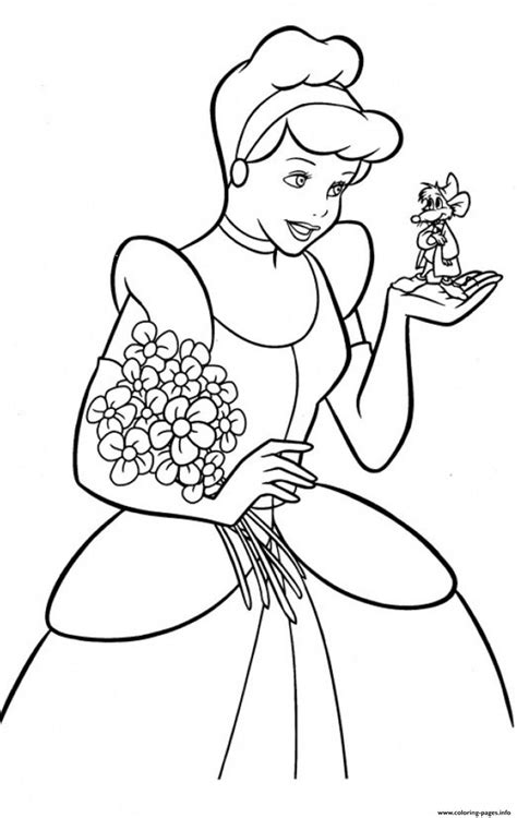 printable coloring pages pinterest print princess free cinderella s for kids9102 coloring
