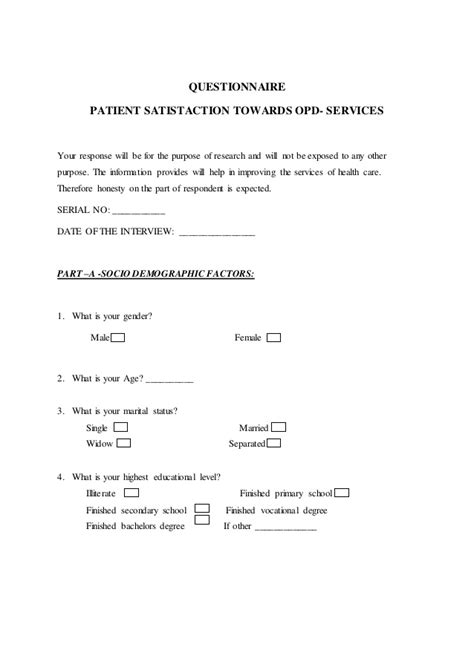 patient satisfaction thesis thesis 2