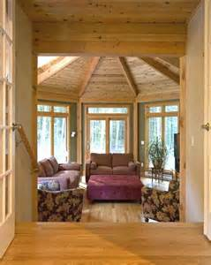 Interior Pictures Of Sunrooms Curved Deck And Sunroom Add Functional Space To