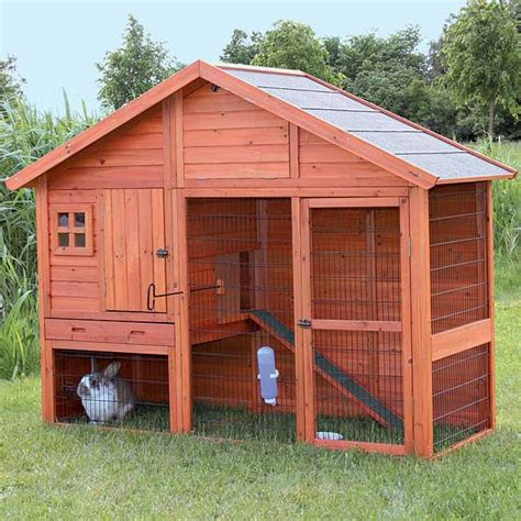 Unique Rabbit Hutch rabbit hutch with gabled roof