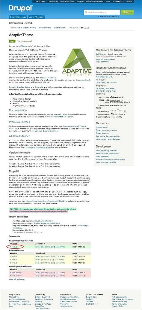 theme select list drupal learn drupal