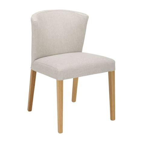 valentina sillas de comedor gris raton tela madera habitat