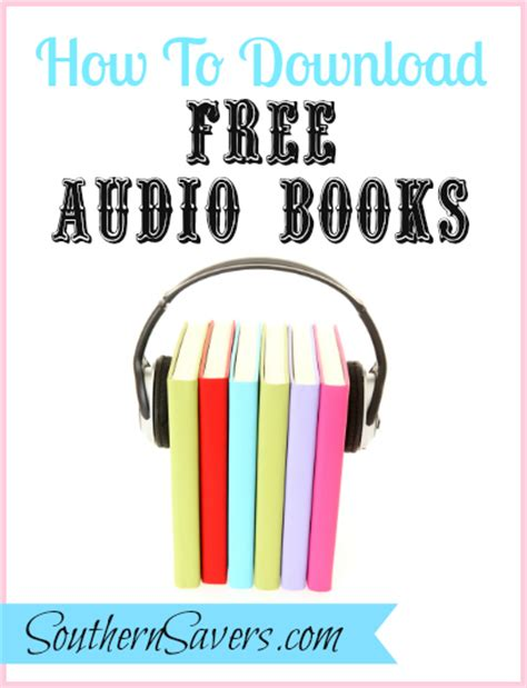 getting books getting free audio books to southern savers