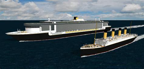 new titanic boat being built new titanic cruise ship fitbudha