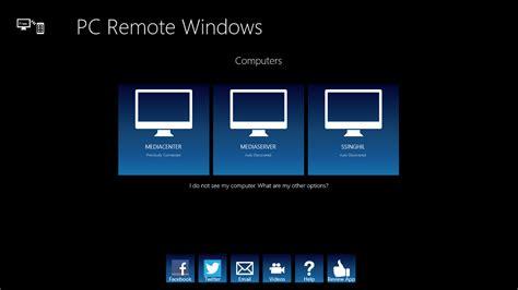 windows remote pc remote windows free windows phone app market
